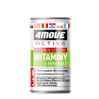 4MOVE VITAMIN DRINK WIT-MIN 150ML