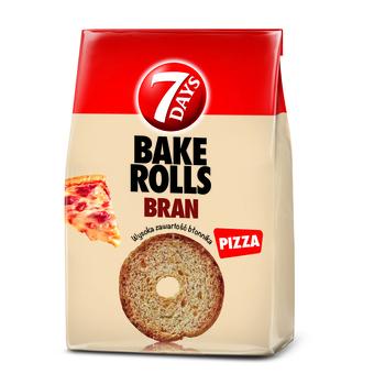 7 DAYS BAKE ROLLS BRAN PIZZA 160G