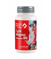 CYNK MAGNEZ WITAMINA B6 ACTIVLAB (45 KAPSUŁEK)