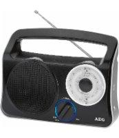 AEG RADIO TRANZYSTOROWE TR 4131 CZARNY
