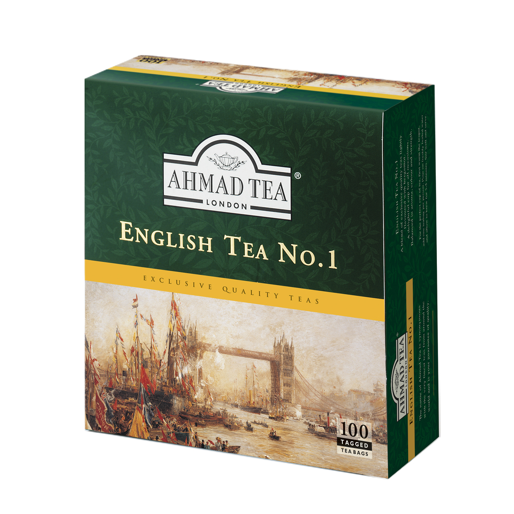 ENGLISH NO.1 AHMAD TEA 100TBX2G