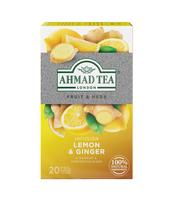 HERBATA LEMON&GINGER AHMAD TEA 20X2G