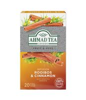 HERBATA ROOIBOS & CINNAMON AHMAD TEA 20X1,5G