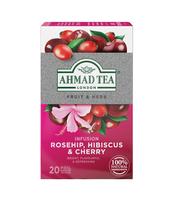 HERBATA ROSEHIP & CHERRY AHMAD TEA 20X2G