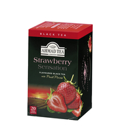 HERBATA STRAWBERRY AHMAD TEA 20 TBX2G