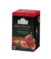 HERBATA STRAWBERRY AHMAD TEA 20 TBX2G