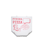 KARTON PIZZA A NADRUKIEM 45X45CM 25SZTUK