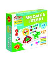 MOZAIKA WPINANKA 2W1 - LITERKI