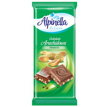 CZEKOLADA ALPINELLA ARACHIDOWA 90G