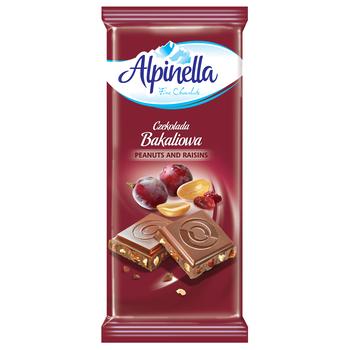 CZEKOLADA ALPINELLA BAKALIOWA 90G