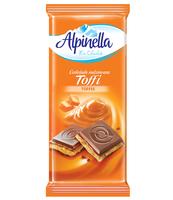CZEKOLADA ALPINELLA NADZIEWANA TOFFI 100 G