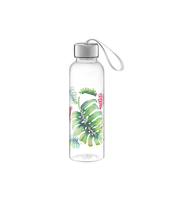 BUTELKA NA WODĘ 550 ML LIŚĆ TROPICAL