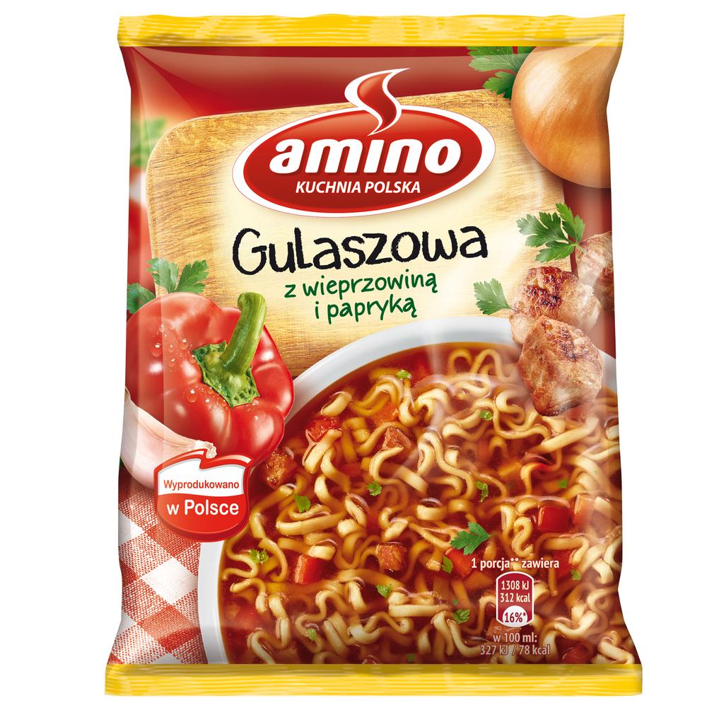 AMINO NUDLE GULASZOWA 59G