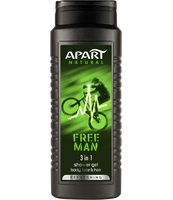 APART PREBIOTIC ŻEL POD PRYSZNIC 500ML FOR MEN FREE MAN