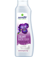 APART NATURAL KREMOWY PŁYN DO KĄPIELI IRYS I WANILIA 750ML
