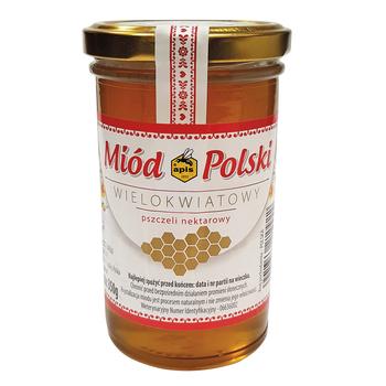 APIS MIÓD POLSKI WIELOKWIATOWY 350 G