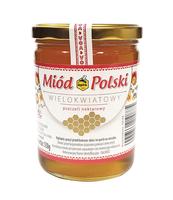 APIS MIÓD POLSKI WIELOKWIATOWY 550 G