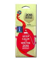 ZAPACH SAMOCHODOWY FIFA 2018 LISTEK VANILLA