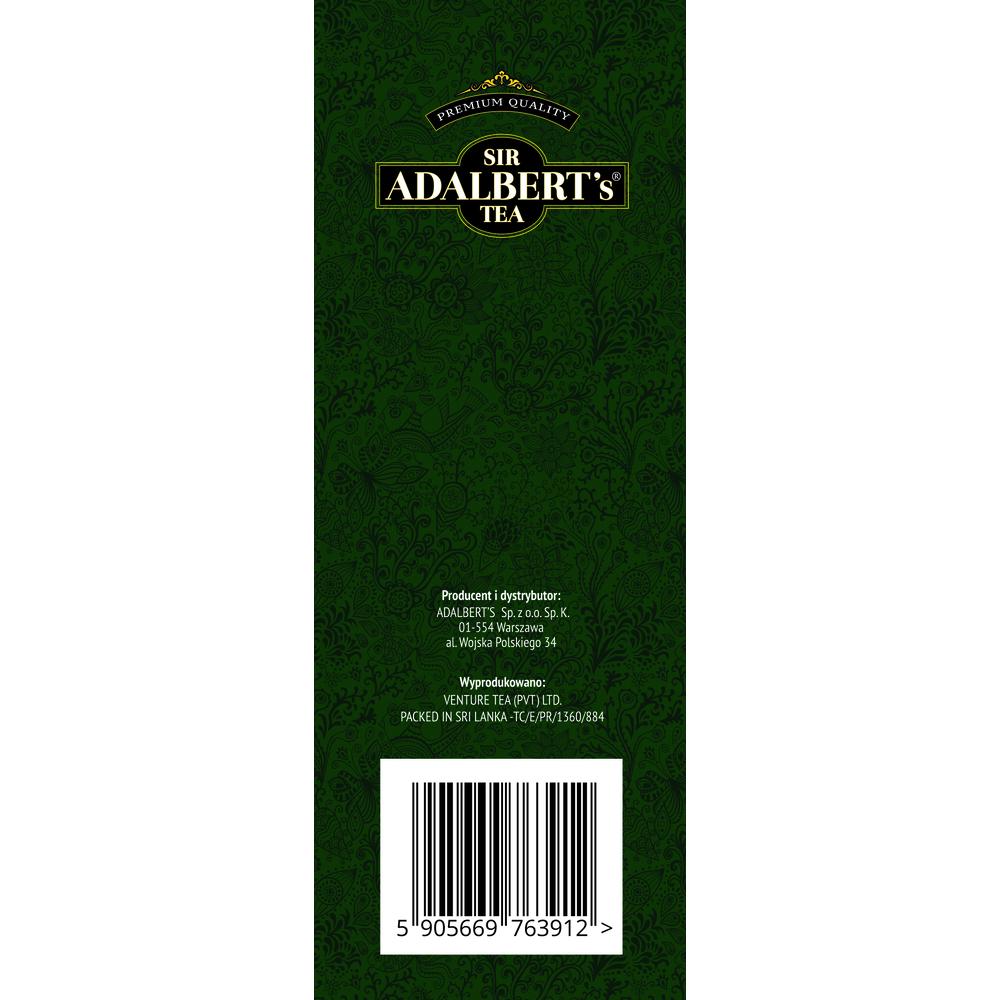ADALBERT'S ZESTAW HERBAT TROPIKALNA 110G + EARL GREY 25X2G (50G)