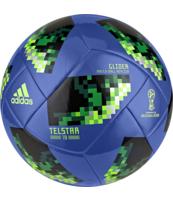 PIŁKA NOŻNA ADIDAS TELSTAR18 WORLD CUP GLIDER (NIEBIESKA)