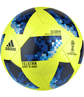 PIŁKA NOŻNA ADIDAS TELSTAR18 WORLD CUP GLIDER (ŻÓŁTA)