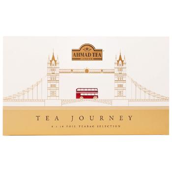 AHMAD TEA TEA JOURNEY 8 X 10 FOIL TEABAG SELECTION 160 G