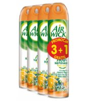 AIR WICK SPRAY ANTITOBACCO 3+1 GRATIS