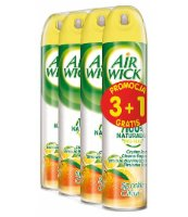 AIR WICK SPRAY CITRUS 3+1 GRATIS