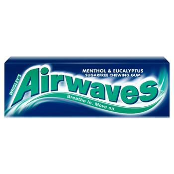 AIRWAVES MENTHOL & EUCALIPTUS 10 DRAŻETEK/14G