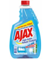AJAX PŁYN DO SZYB TRIPLE ACTION ANTI-FOG 750ML ZAPAS