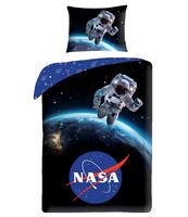 KOMPLET POŚCIELI WZÓR NASA NR 4067 ROZMIAR 140X200 1X70X90 CM