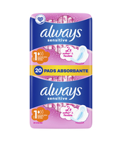 ALWAYS ULTRA SENSITIVE NORMAL PODPASKI 20 SZT