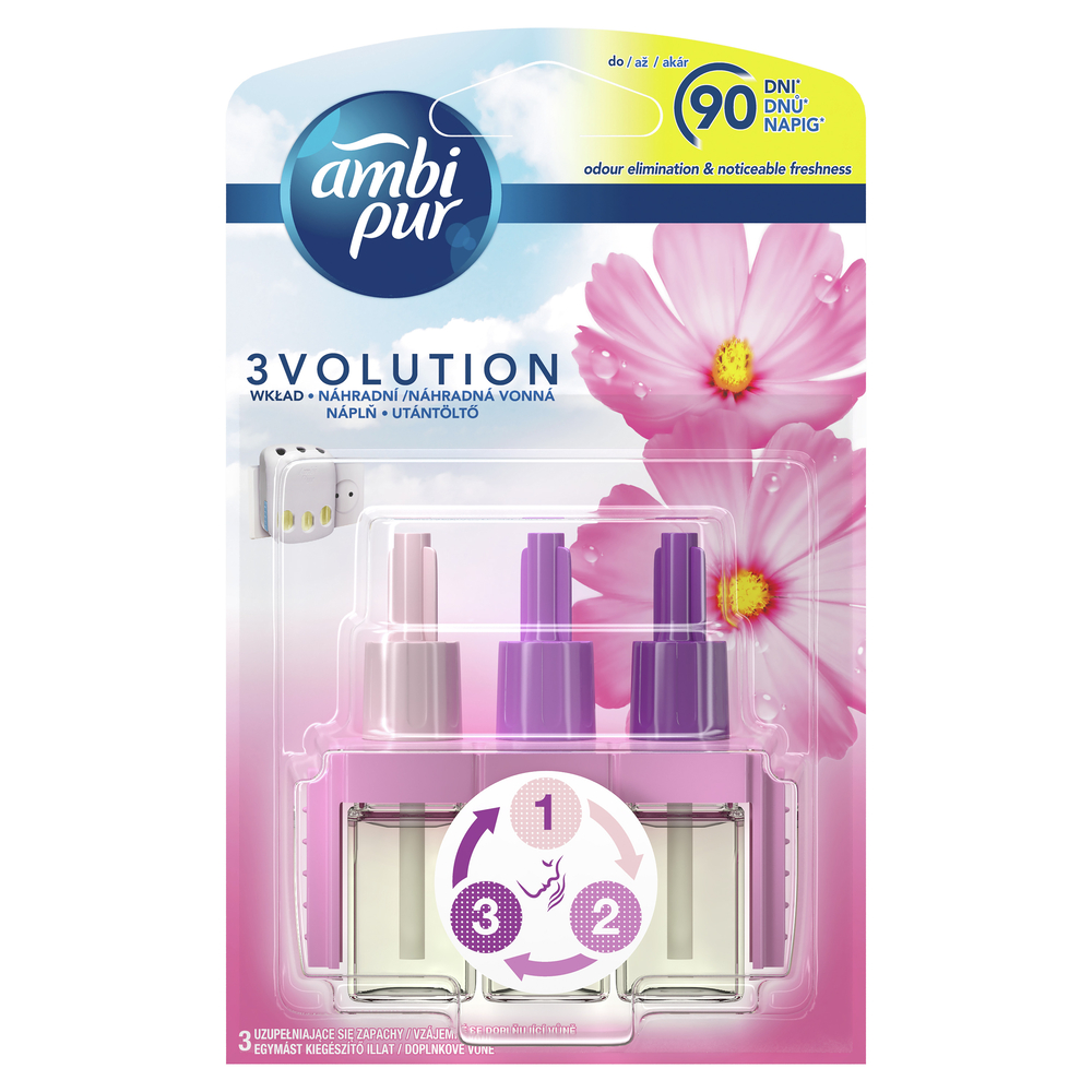 AMBI PUR 3VOLUTION FLOWERS&SPRING WKŁAD DO ODŚWIEŻACZA POWIETRZA 20 ML