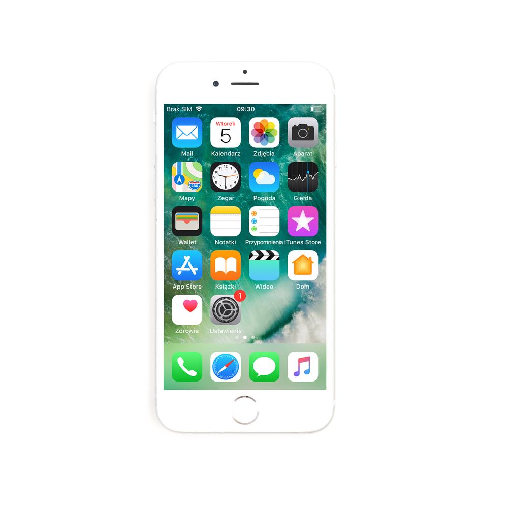 SMARTFON APPLE IPHONE 6S 64GB SREBRNY REFABRYKOWANY