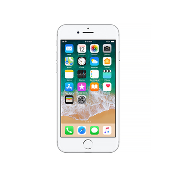 SMATFON APPLE IPHONE 7 128GB SREBRNY REFABRYKOWANY