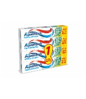 AQUAFRESH M&M 125 ML 3+1 GRATIS