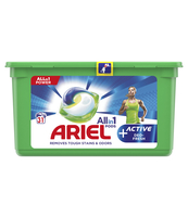 ARIEL ALL-IN-1 ACTIVE DEO FRESH, KAPSUŁKI DO PRANIA, 31 SZT