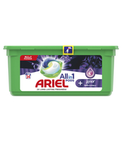 ARIEL ALL-IN-1 + LENOR UNSTOPPABLE, KAPSUŁKI DO PRANIA, 24 SZT
