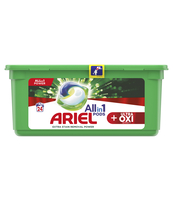 ARIEL ALLIN1 +ULTRA OXI EFFECT, KAPSUŁKI DO PRANIA, 24 SZT