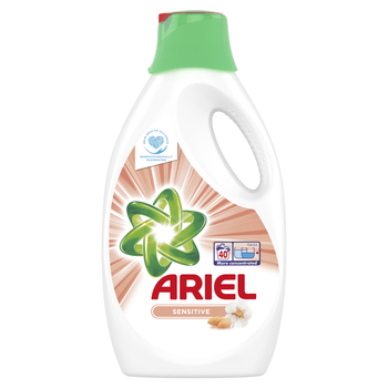 ARIEL SENSITIVE PŁYN DO PRANIA 2,2 L, 40 PRAŃ