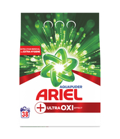 ARIEL + ULTRA OXI EFFECT, PROSZEK DO PRANIA 2,85KG, 38 PRAŃ