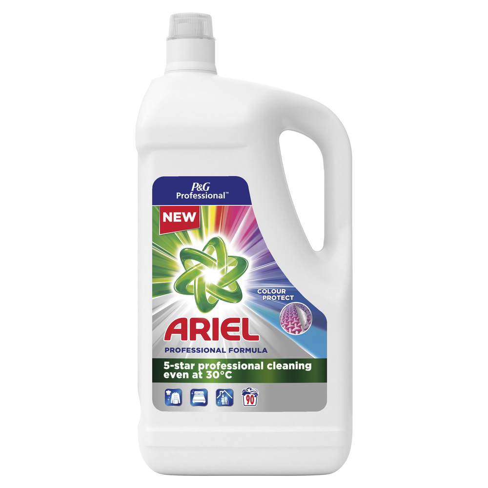 ARIEL PROFESSIONAL COLOR PŁYN DO PRANIA 4.95L, 90 PRAŃ