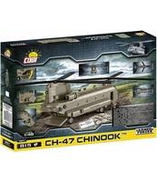 AMERYKAŃSKI ŚMIGŁOWIEC WOJSKOWY CH-47 CHINOOK - 815 KLOCKÓW
