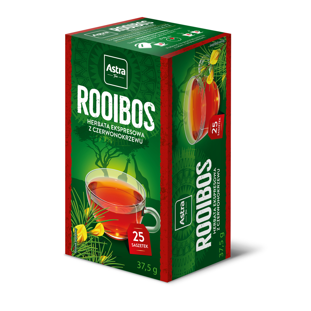 ASTRA ROOIBOS 25 TOR. EX. 37,5 G