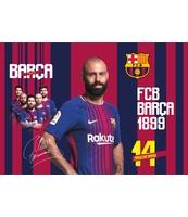 BLOK RYSUNKOWY A4 20 ARKUSZY FC BARCELONA