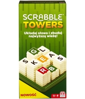 MATTEL GAMES SCRABBLE TOWERS