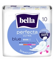 PODPASKI BELLA PERFECTA ULTRA BLUE EXTRA SOFT 10 SZT.