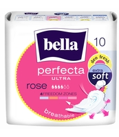 PODPASKI BELLA PERFECTA ULTRA ROSE DEO FRESH 10 SZT. EXTRA SOFT