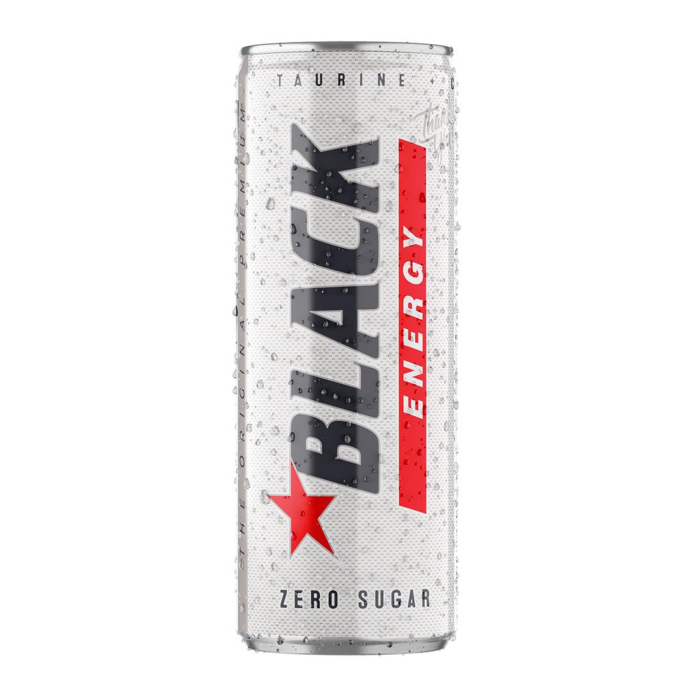 BLACK ENERGY ZERO SUGAR 250 ML