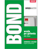 BOND SPEEDMASTER WODA PO GOLENIU 100ML